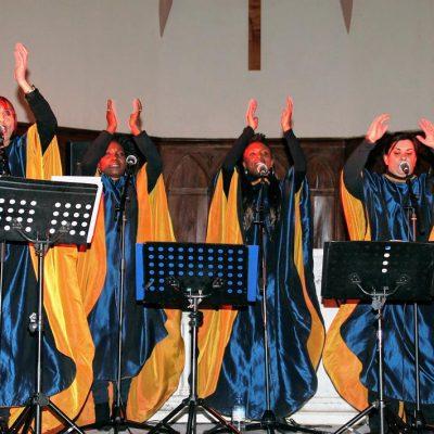 Concert Blue Note Sisters Gospel dans l'Eglise