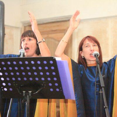 Blue Note Sisters Gospel les chanteuses