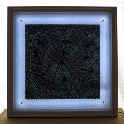 Acrylique sur Plexi Lumineux