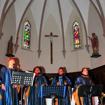 Concert des Blue Note Sisters Gospel – Bousquet d'Orb en Mars 2018