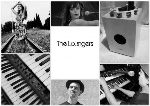 The-Loungers-Affiche-BW